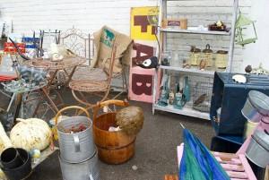 Bridport Vintage Market Stall