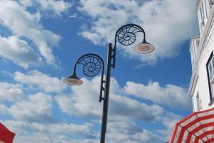 Lyme lamppost