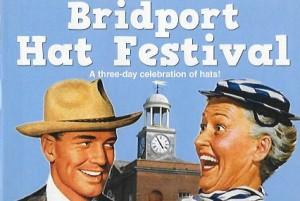Bridport Hat Festival Poster
