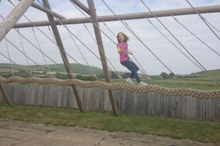 Rope Swing in West Bay Playground