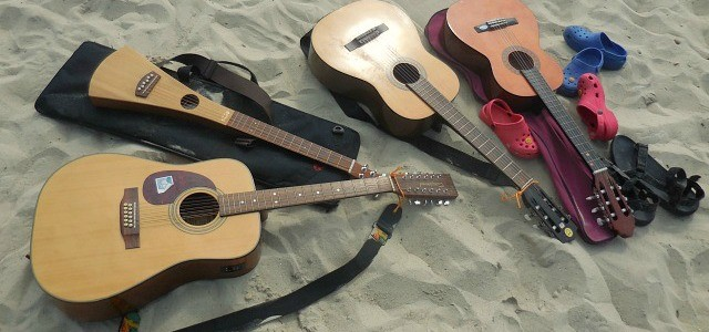 Guitars on the Beach 2014