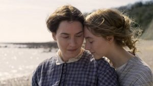 Kate Winslet and Saoirse Ronan in Ammonite 2020