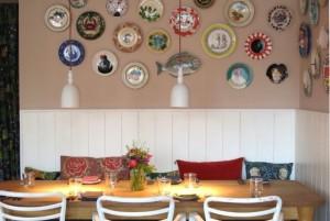 Inside Brassica Restaurant