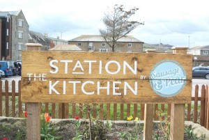 Station Kitchen Sign