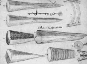 Sketch made by Mary Anning