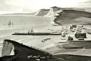 William Daniell's Bridport Harbour 1813
