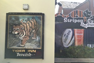 Tiger Inn Sign