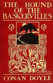The Hound of the Baskervilles 1st edition book cover