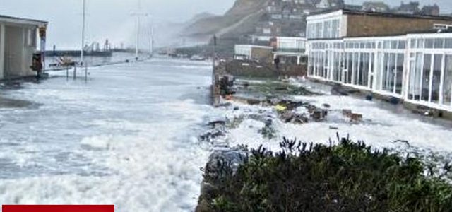 West Bay Flood Defence Work