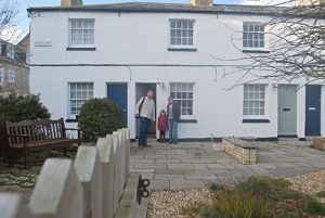 First weekend at West Bay Cottage
