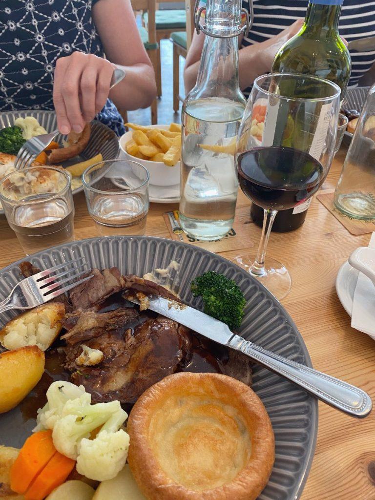 Sunday Roast at Seagulls West Bay
